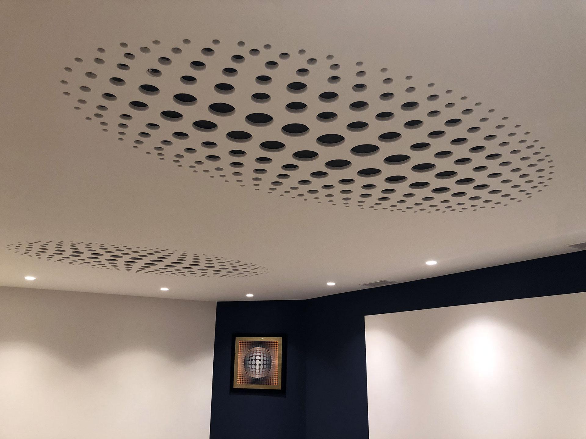 Plafond accoustique