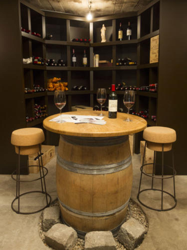 Cave à vin agencement