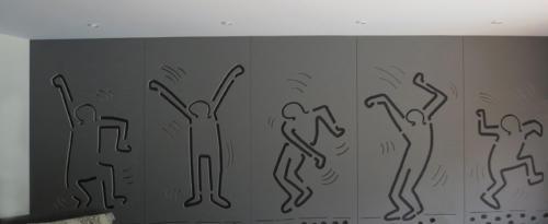 Mur gravure